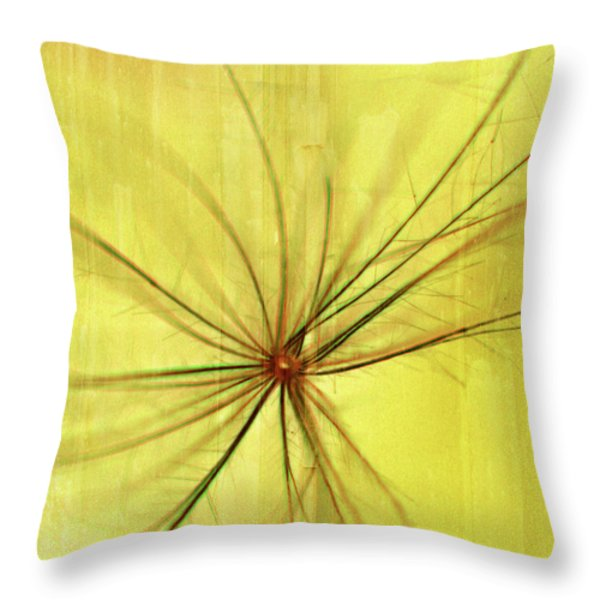 Sunny Throw Pillow by Bonnie Bruno