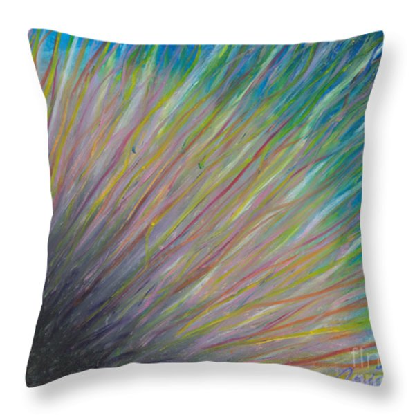 Sunrise For Jane Throw Pillow by Ania M Milo