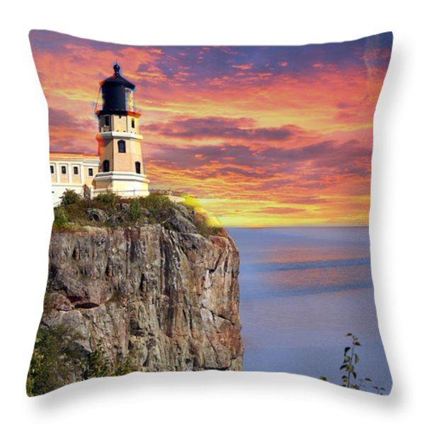Sunrise Throw Pillow by Marty Koch
