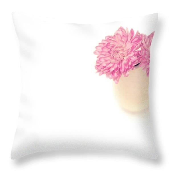 Sweet Harmony Throw Pillow by Evelina Kremsdorf