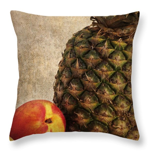 Sweet things Throw Pillow by Angela Doelling AD DESIGN Photo and PhotoArt