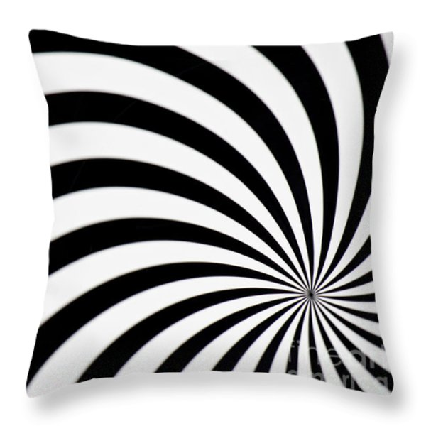 Swirl Throw Pillow by Angela Doelling AD DESIGN Photo and PhotoArt
