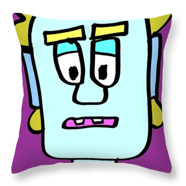 Tag Throw Pillow by Jera Sky