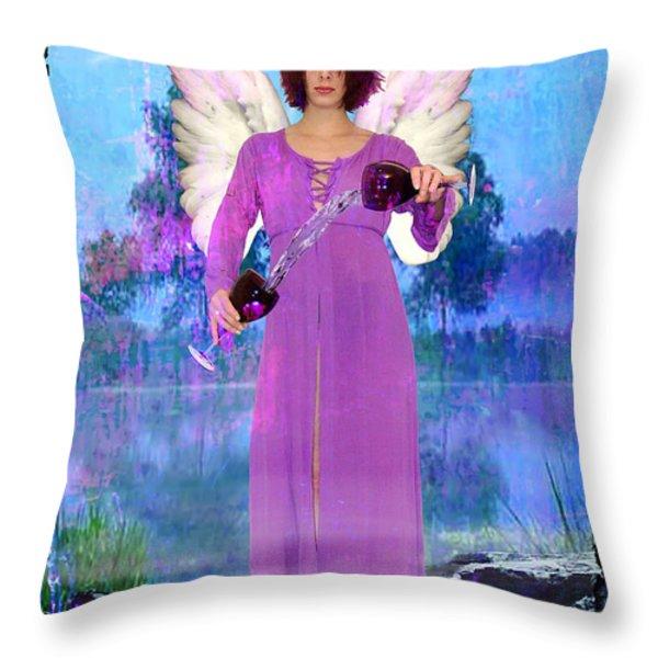 Temperance Throw Pillow by Tammy Wetzel