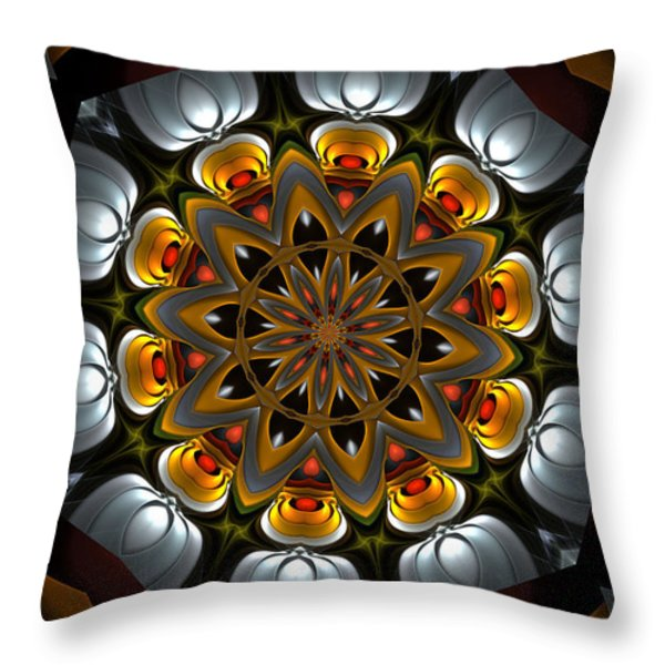 Ten Minute Art 3 Throw Pillow by David Lane