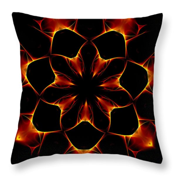 Ten Minute Art 6 Throw Pillow by David Lane