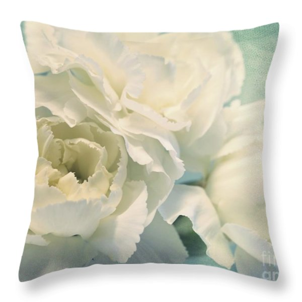 tenderly Throw Pillow by Priska Wettstein