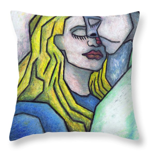 Tendor Moment Throw Pillow by Kamil Swiatek