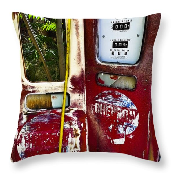 Tether World Throw Pillow by Skip Hunt
