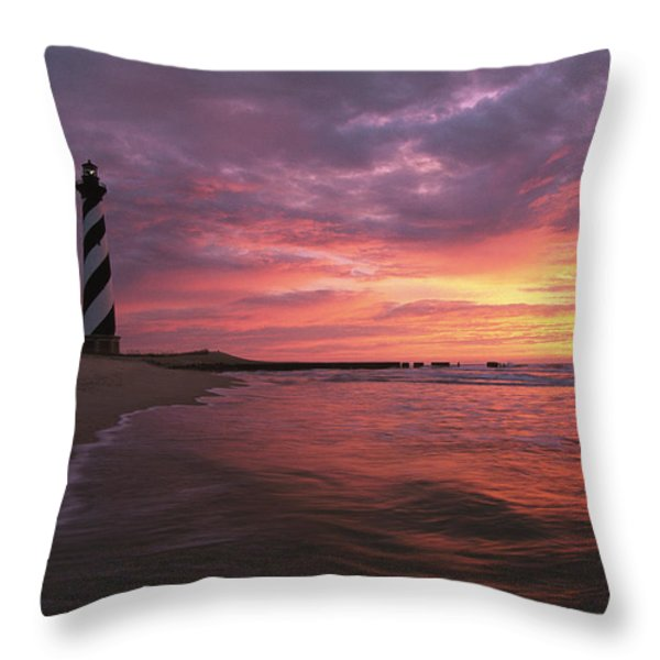 The 198-foot tall Throw Pillow by STEVE WINTER