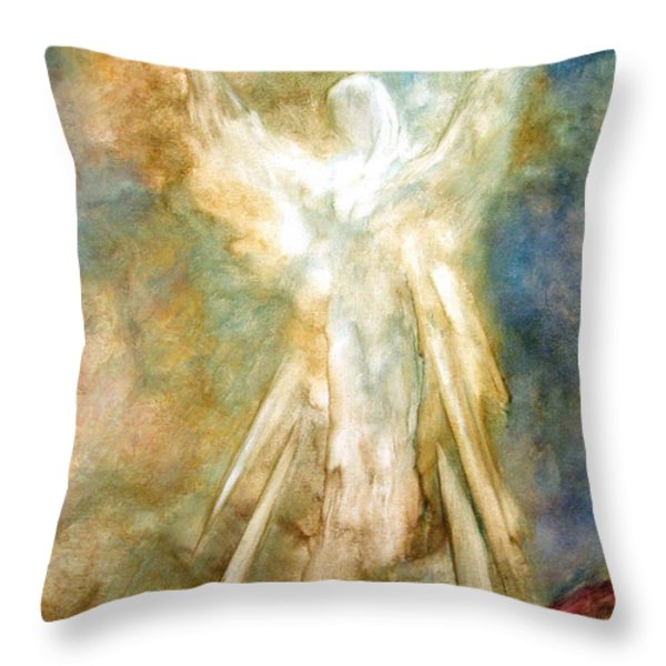 The Appearance Throw Pillow by Marina Petro