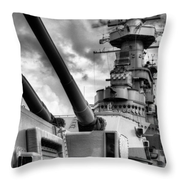 The Big NC Throw Pillow by JC Findley