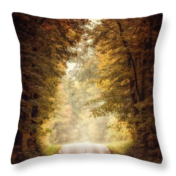 The Clearing Throw Pillow by Lisa Russo
