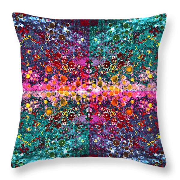 The Cosmos Crown Jewels 1 Throw Pillow by Angelina Vick