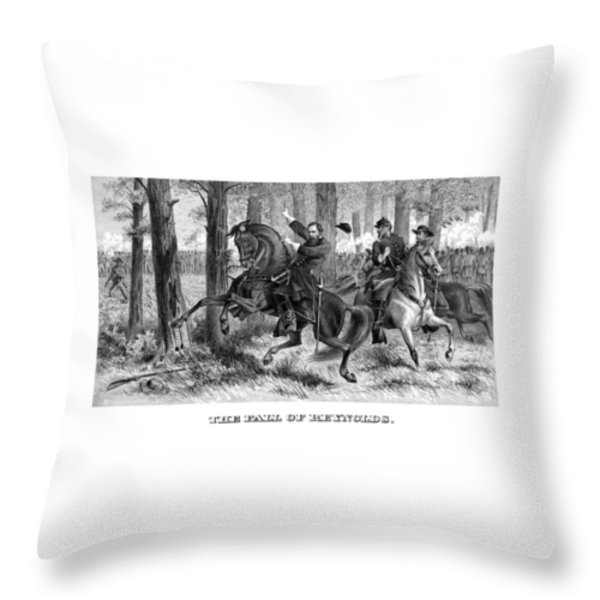 The Fall Of Reynolds Throw Pillow by War Is Hell Store