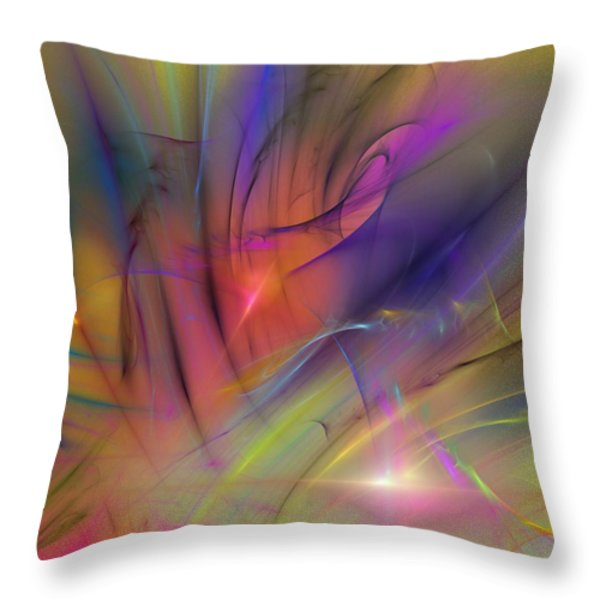 The Gloaming Throw Pillow by David Lane