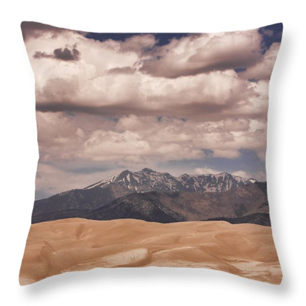 The Great Sand Dunes 88 Throw Pillow by James BO  Insogna
