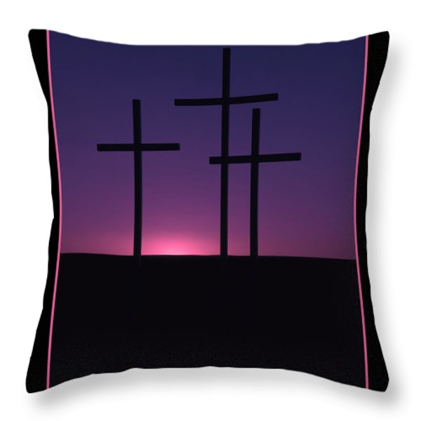 The Greatest Gift Throw Pillow by Mike  Dawson