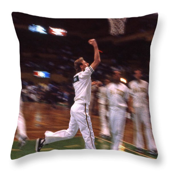 The Hick From French Lick Throw Pillow by Mike Martin