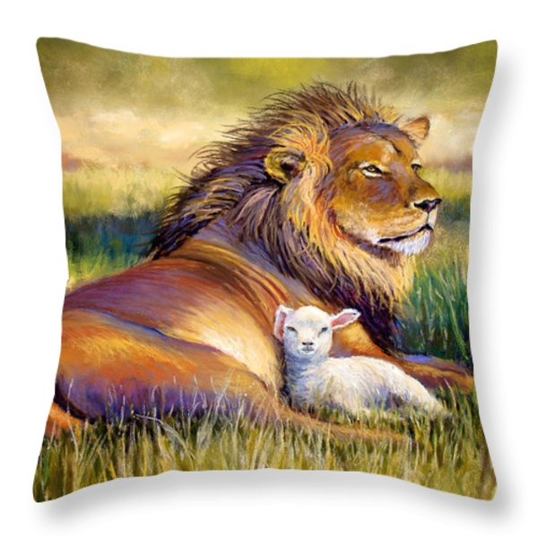 The Kingdom Of Heaven Throw Pillow by Susan Jenkins