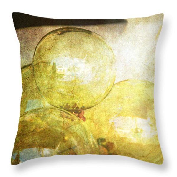 The Magic Of Christmas Throw Pillow by Susanne Van Hulst