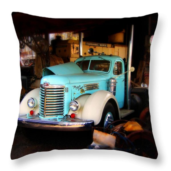 The Other Woman Throw Pillow by Perry Webster