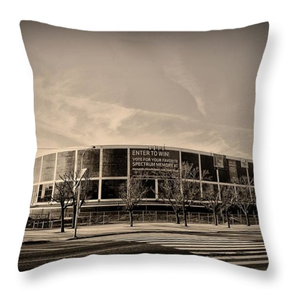 The Philadelphia Spectrum Throw Pillow by Bill Cannon