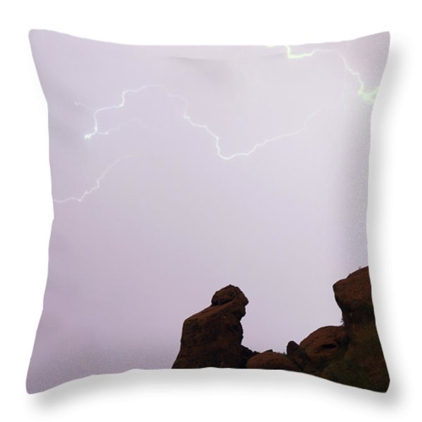 The Praying Monk Phoenix Arizona Throw Pillow by James BO  Insogna
