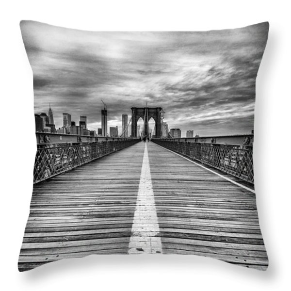 The Road To Tomorrow Throw Pillow by John Farnan