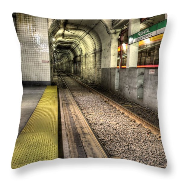 The T Throw Pillow by JC Findley