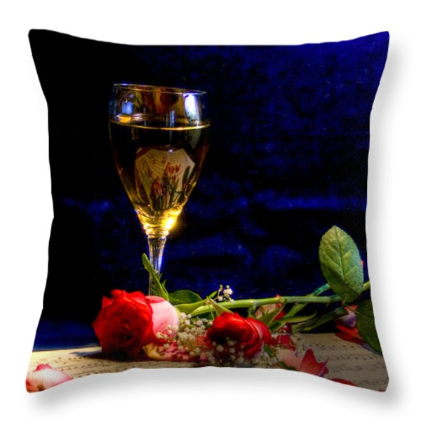 The Toast Throw Pillow by Sophie De Roumanie