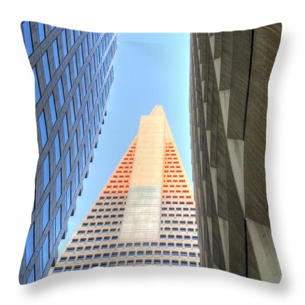 The Tourist  Throw Pillow by JC Findley