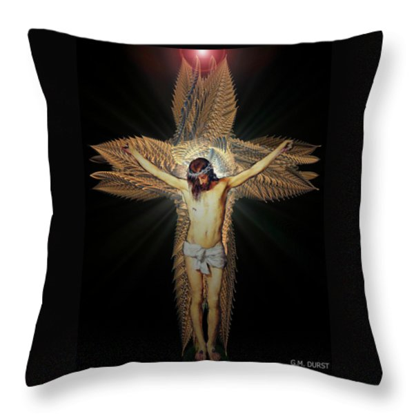 The Transformation Throw Pillow by Michael Durst