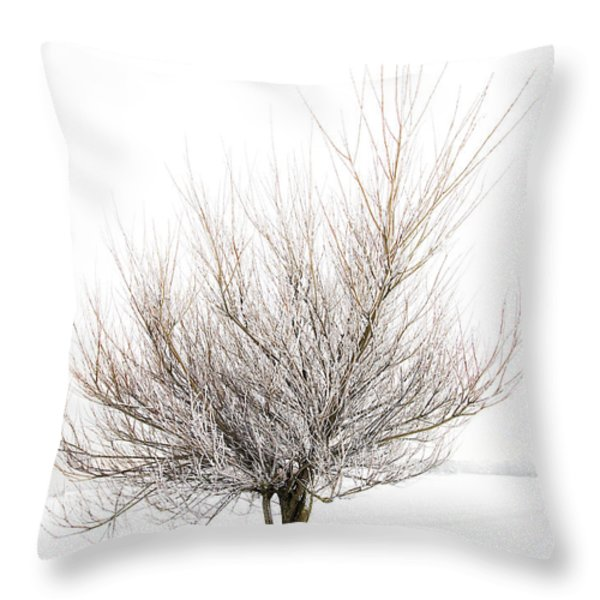 The Tree Throw Pillow by Svetlana Sewell