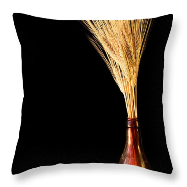 The Vase Throw Pillow by JC Findley
