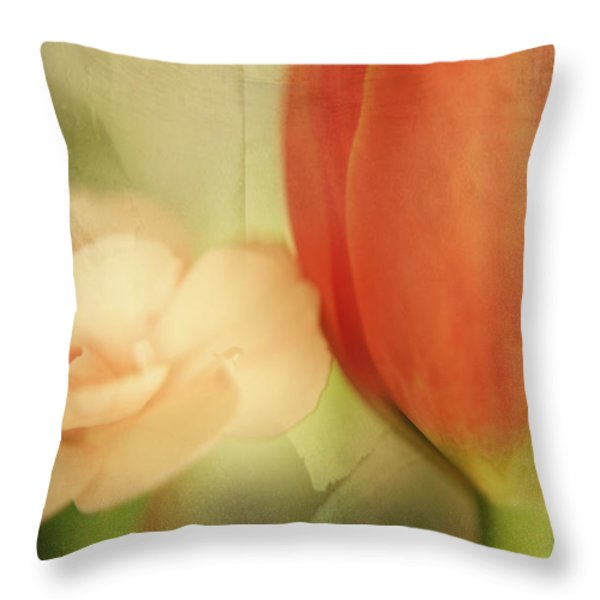 They Could Never Tear Us Apart Throw Pillow by Laurie Search