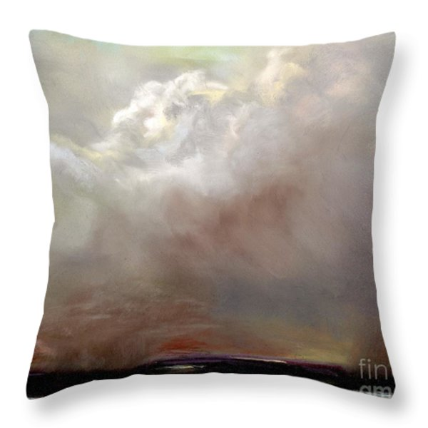 Things Are About to Change Throw Pillow by Frances Marino