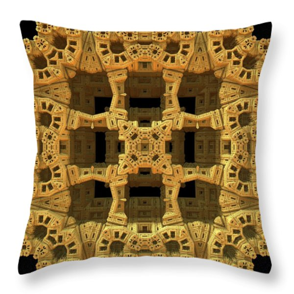 Thinking Inside The Box Throw Pillow by Lyle Hatch
