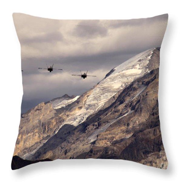 Three Amigos Throw Pillow by Angel  Tarantella