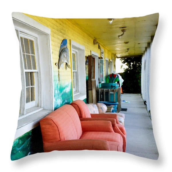 Thrift Store 1 Throw Pillow by Lanjee Chee