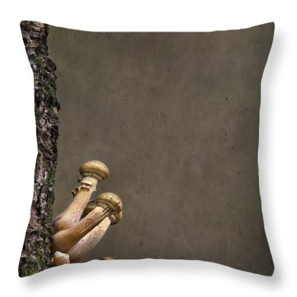Ties That Bind Throw Pillow by Evelina Kremsdorf