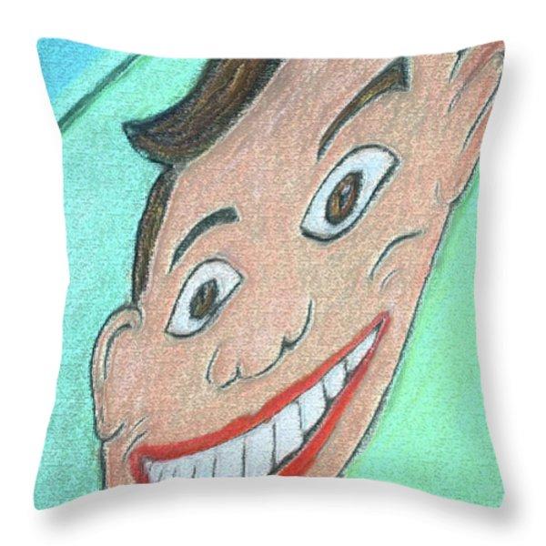 TILLIE ONE Throw Pillow by Melinda Saminski