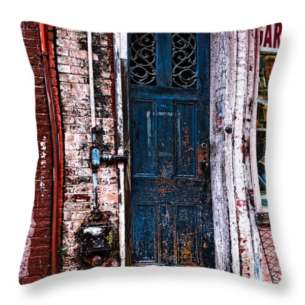Time Tested Throw Pillow by Christopher Holmes