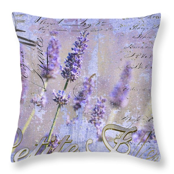 Timeless Lavender Throw Pillow by Anahi DeCanio