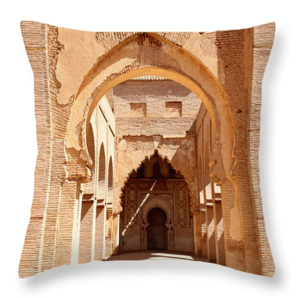 Tin Mal Mosque Throw Pillow by Axiom Photographic