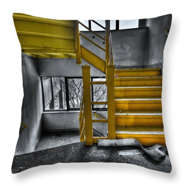 To The Higher Ground Throw Pillow by Evelina Kremsdorf