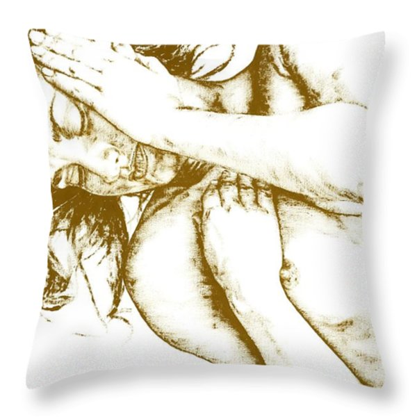 Tragedy Throw Pillow by Richard Young