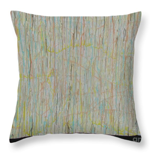 Tranquility Throw Pillow by Jacqueline Athmann