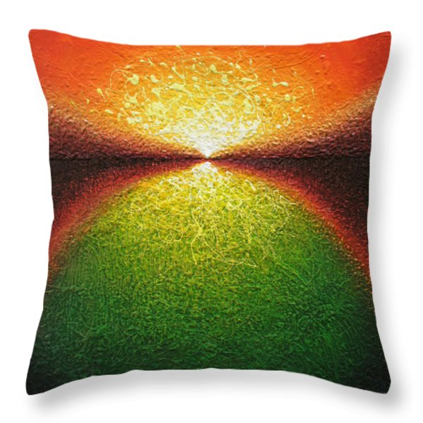 Transfiguration Throw Pillow by Jaison Cianelli