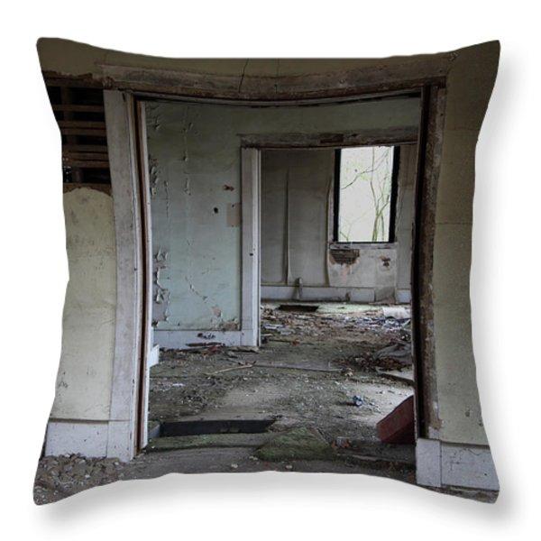 Travel Throw Pillow by Amanda Barcon
